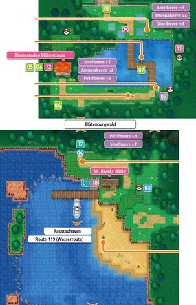Mapa de la ruta 104