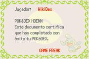 Diploma Pokédex Hoenn E.png