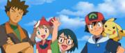 EDJ18 Brock, May-Aura, Max, Ash y Pikachu.png
