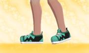 Zapatillas de Deporte Verde F.png