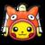 Pikachu Pokédisfraz Magikarp PLB.png