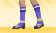 Calcetines de Deporte Violeta.png