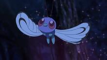 Butterfree usando somnífero