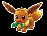 Eevee hembra Pokémon Mundo misterioso equipo de rescate DX.png