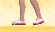 Zapatillas de Deporte Rojo Gradual F.png