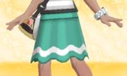 Falda con Línea Verde.png