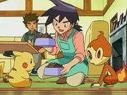 EP535 Reggie atendiendo a los Pokémon.png