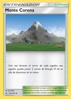 Carta Monte Corona