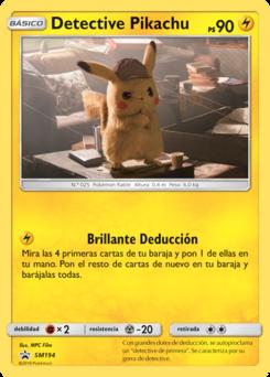 Carta de Detective Pikachu