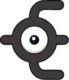 Unown E (dream world).png