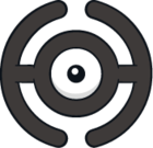 Unown H (dream world).png