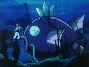 Submarino Magikarp en el lecho marino.
