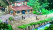 EP899 Entrenadores frente al Centro Pokémon.png