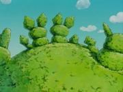 Arbusto con forma de Pichu.