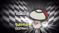"""Foongus en el segmento """"¿Quién es ese Pokémon?/¿Cuál es este Pokémon?"""""""