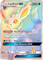 Leafeon-GX (Ultraprisma 157 TCG).png
