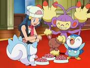 EP553 Pokémon de Maya comiendo.png