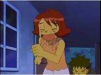 Ash disfrazado de Julieta en el EP318.