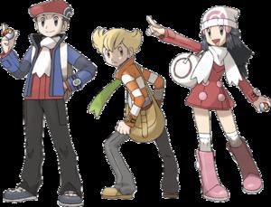 Los protagonistas tendrán nuevos trajes en la versión Platino/Platinum.