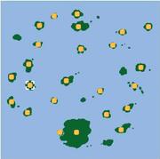 Localización de Isla Sunburst.