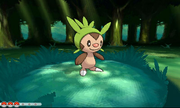 Chespin en combate.png