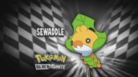 """Sewaddle en el segmento """"¿Quién es ese Pokémon?/¿Cuál es este Pokémon?"""""""