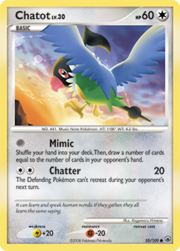 Chatot (Majestic Dawn TCG).png