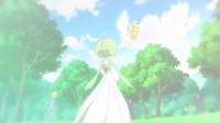 Pikachu de Ash usando cola férrea en un flashback del EP832.