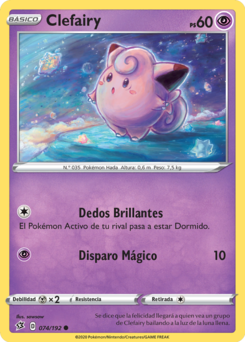 Carta de Clefairy