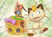 Teatro Meowth Pokémon Mundo Megamisterioso.png