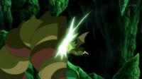 Noibat de Ash usando placaje.
