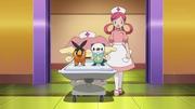 EP675 Enfermera Joy con los Pokémon de Ash.png