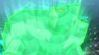 Avalugg activando su habilidad gélido.