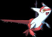 Artwork de la distribución de Latias del Festival de Pokémon legendarios.png