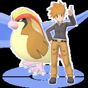 Azul y Pidgeot Pokémon Masters.png