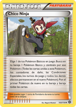 Carta Chico Ninja