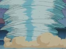 Clefairy usando Metrónomo. En este caso, tornado.