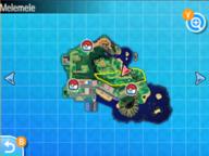 Localización de la ruta 1 en Alola