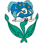 Florges azul (dream world).png