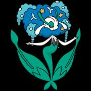 Florges azul (dream world).png