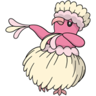 Oricorio plácido (dream world).png