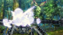 Flygon salvaje usando dragoaliento.