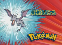 Aerodactyl en el segmento ¿Quien es ese Pokémon?