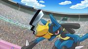EP770 Pikachu de Ash usando cola férrea.png