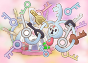 Llaves Klefki Pokémon Mundo Megamisterioso.png