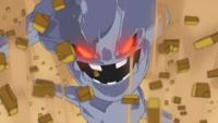 Steelix de Brock usando excavar.