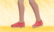 Zapatos Planos Rojo.png
