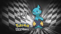 """Dewott en el segmento """"¿Quién es ese Pokémon?/¿Cuál es este Pokémon?"""""""