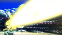 Venusaur de Nihei usando rayo solar.