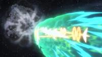 Mega-Rayquaza usando ascenso draco